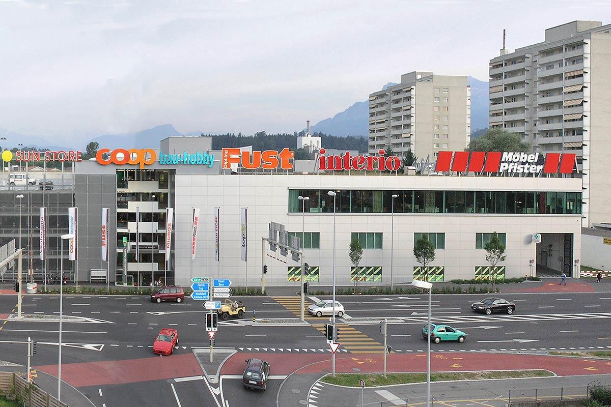 Wohncenter Meierhoefli Emmen Architekturbüro Koch